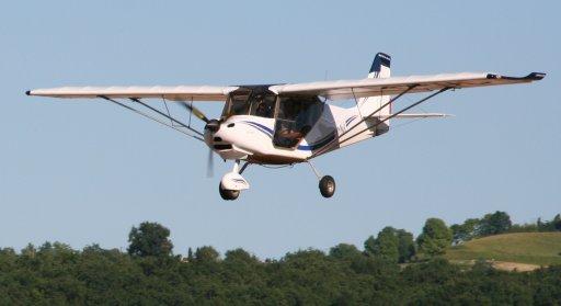 pilote ULM Multiaxes